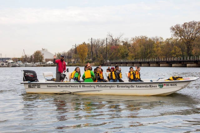 CANCELLED: Anacostia River Boat Tour - One Hour