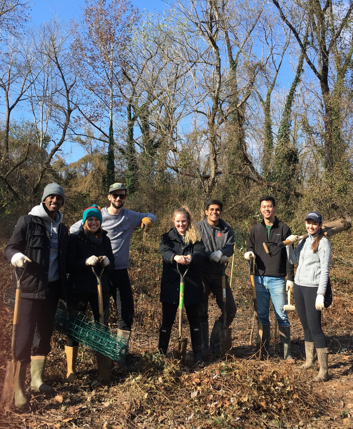 Event Full - Tree Planting at Dueling Creek