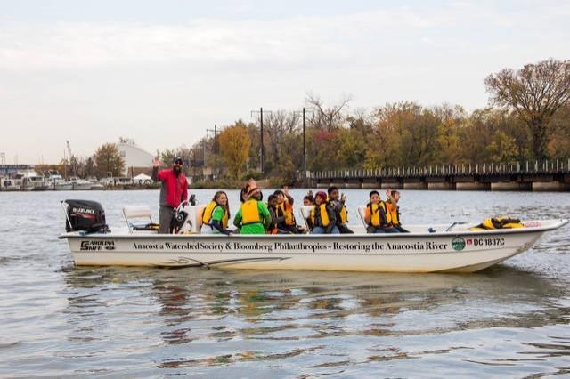 WAITLIST - Anacostia River Explorers Boat Tour