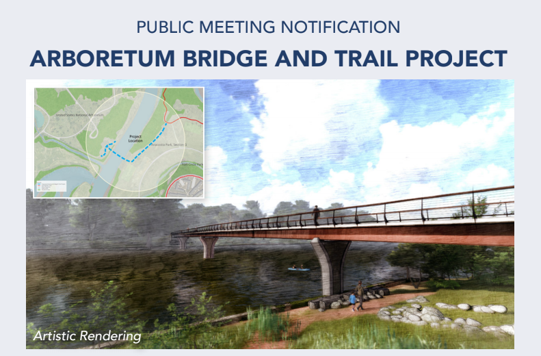 POSTPONED DUE TO SHUTDOWN Public Meeting: Arboretum Bridge and Trail Project for Ward 7