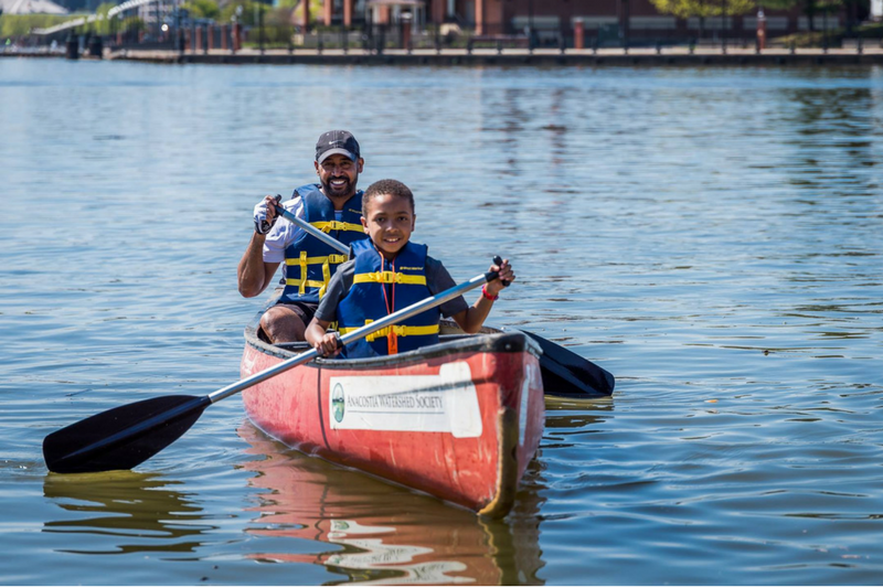 Anacostia River Discovery Series Paddle Night