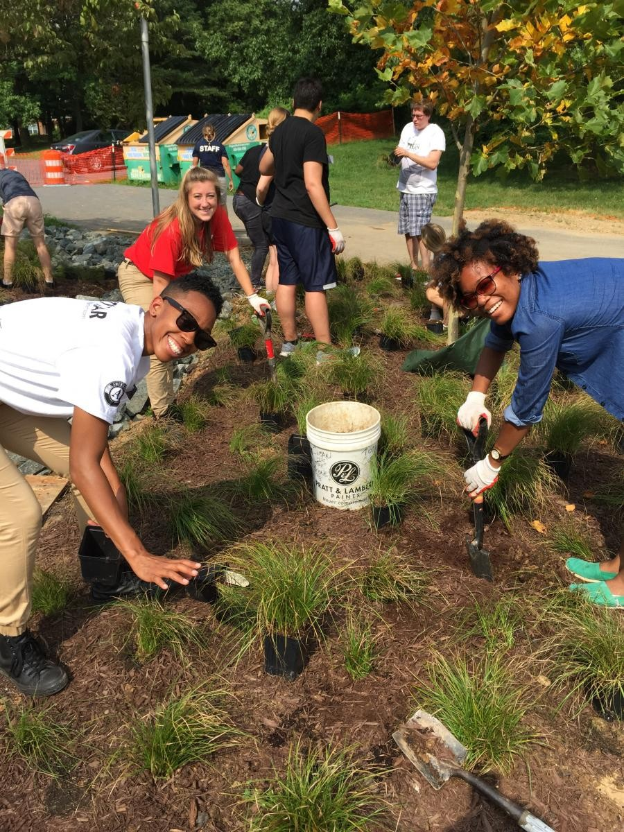 12-2pm Rain Garden Workday at EW Stokes Public Charter School