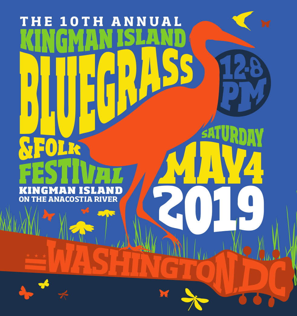 10th Annual Kingman Island Bluegrass Festival