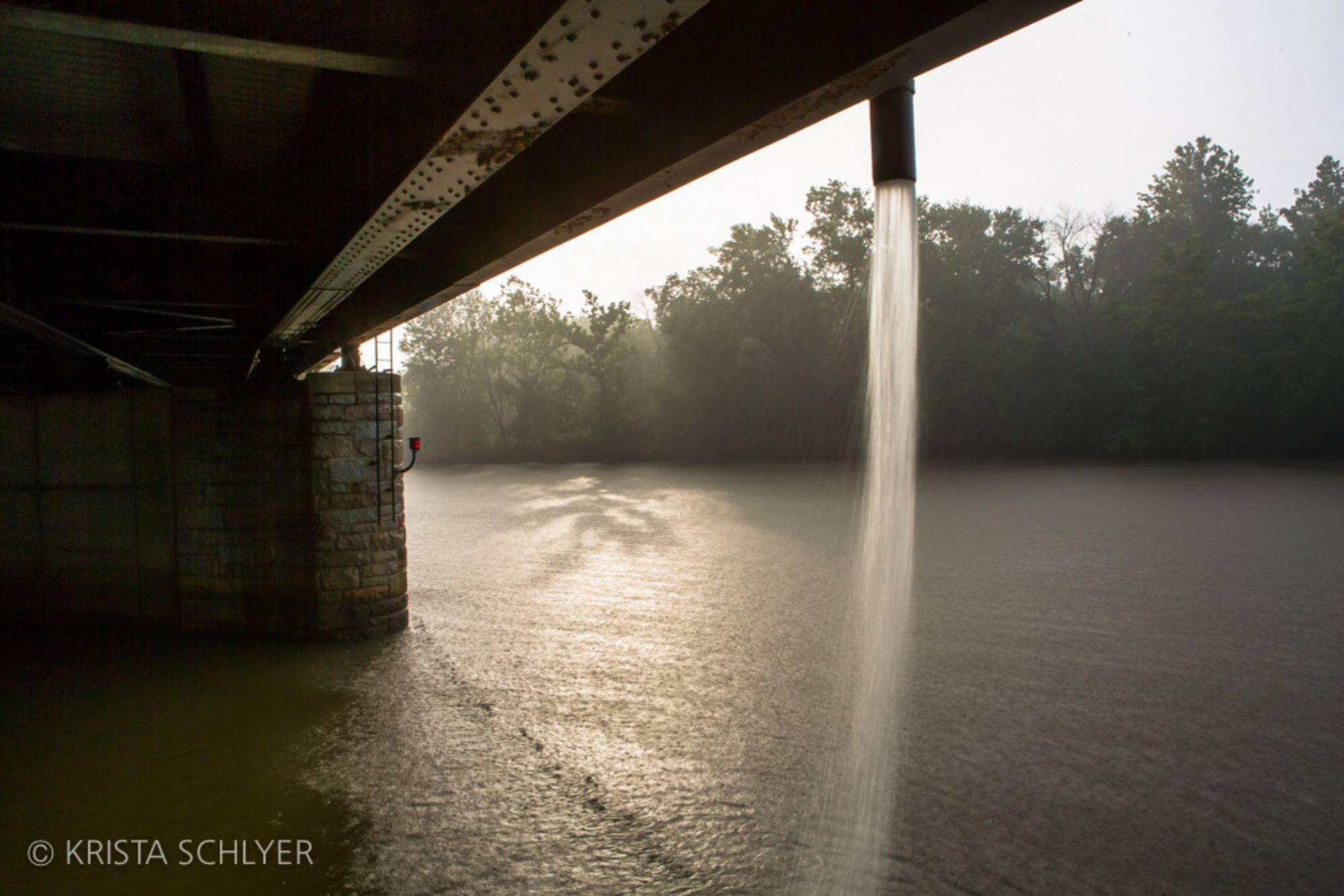 Wettest Year On Record Pushes Anacostia River Grade Back Below Passing