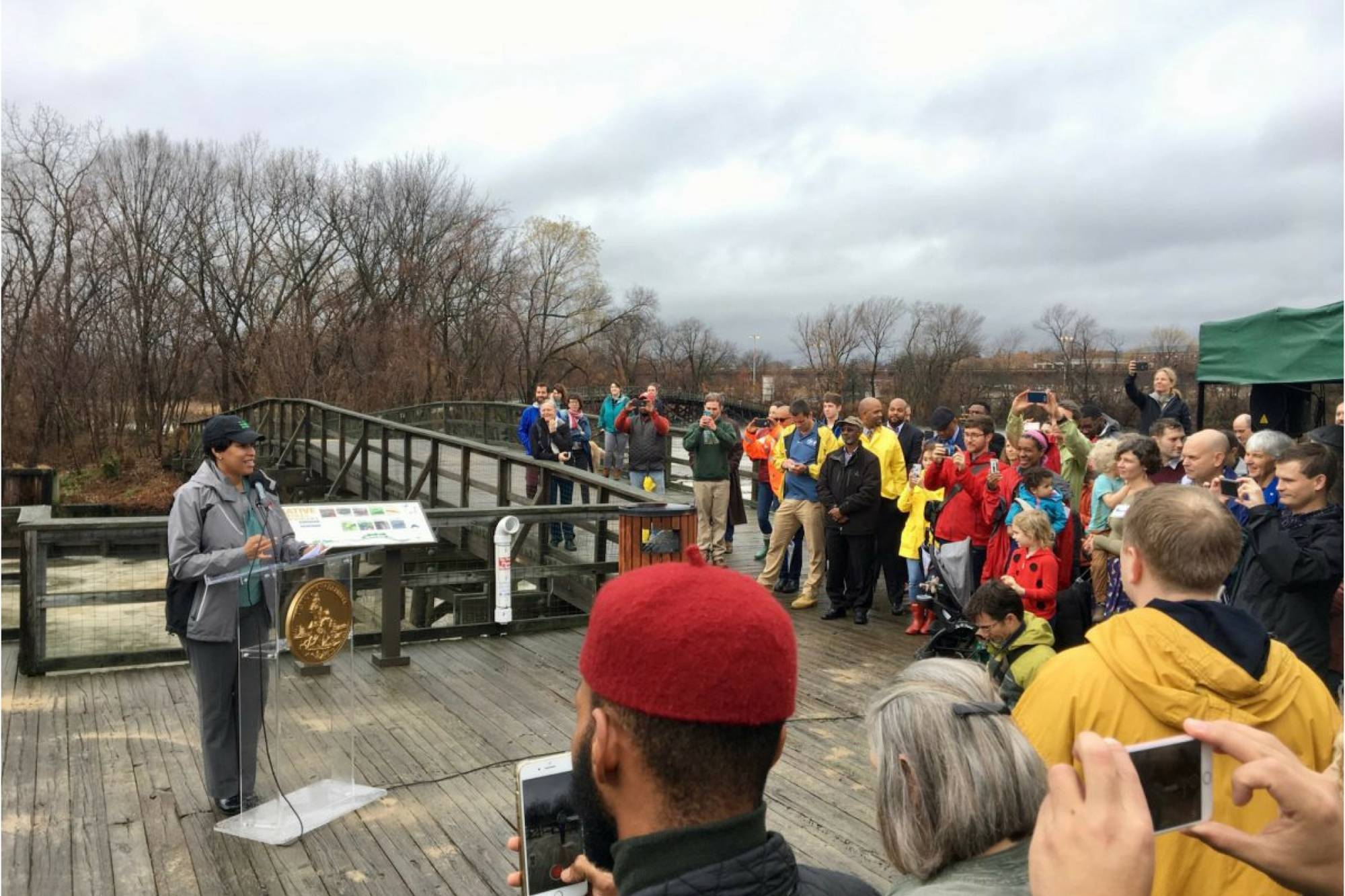 Anacostia Watershed Society Applauds Mayor Bowser's Investment in Kingman Island