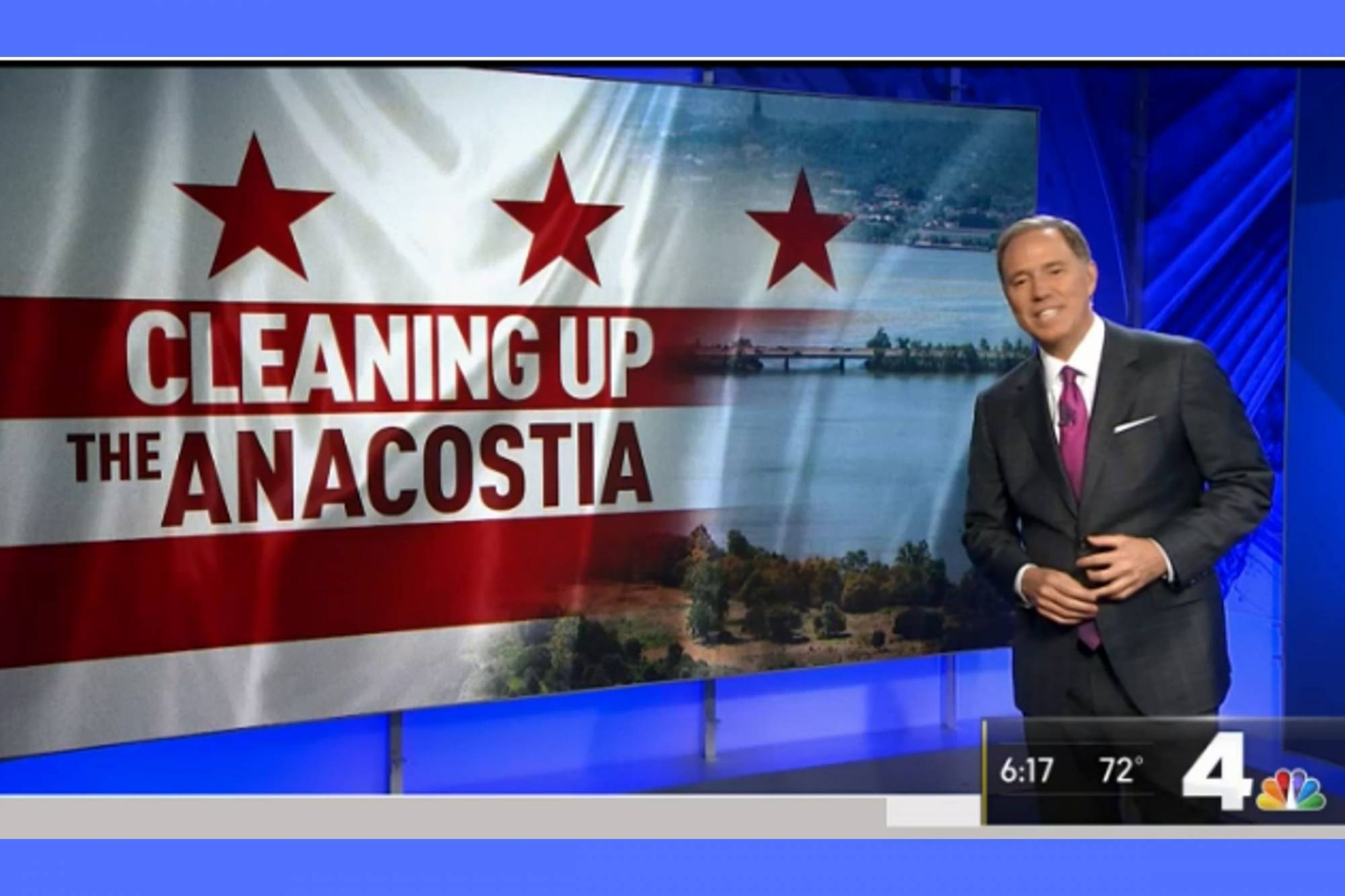 NBC4 - Mussel Power: Thousands of Mollusks Dropped Into Anacostia River to Clean it Up