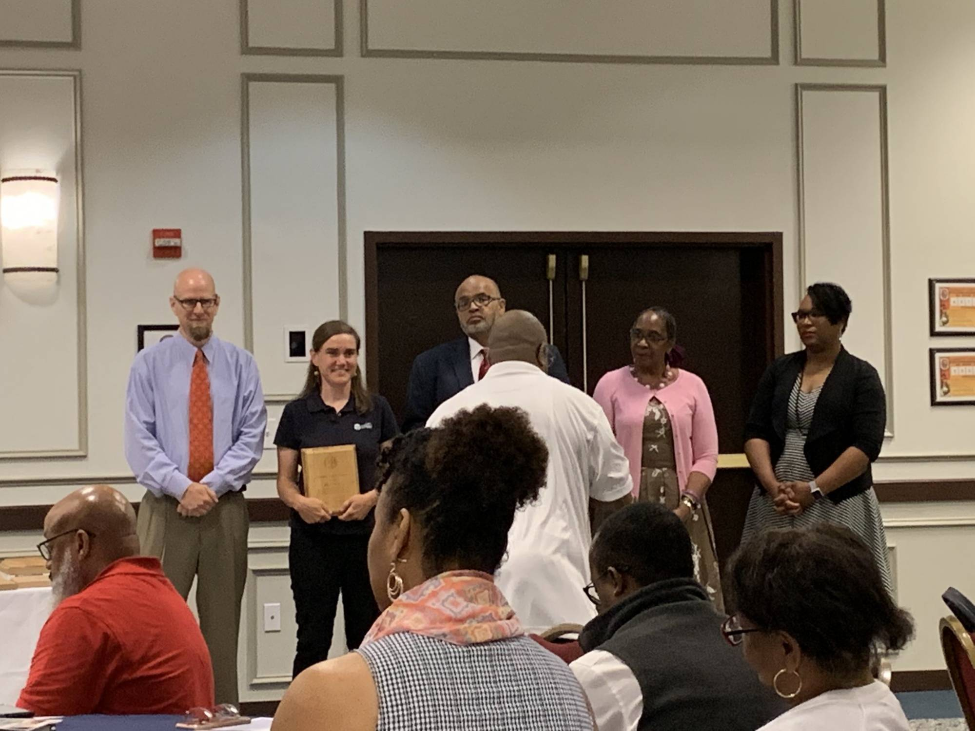 AWS's Director of River Restoration Wins Award from Prince George's County Schools