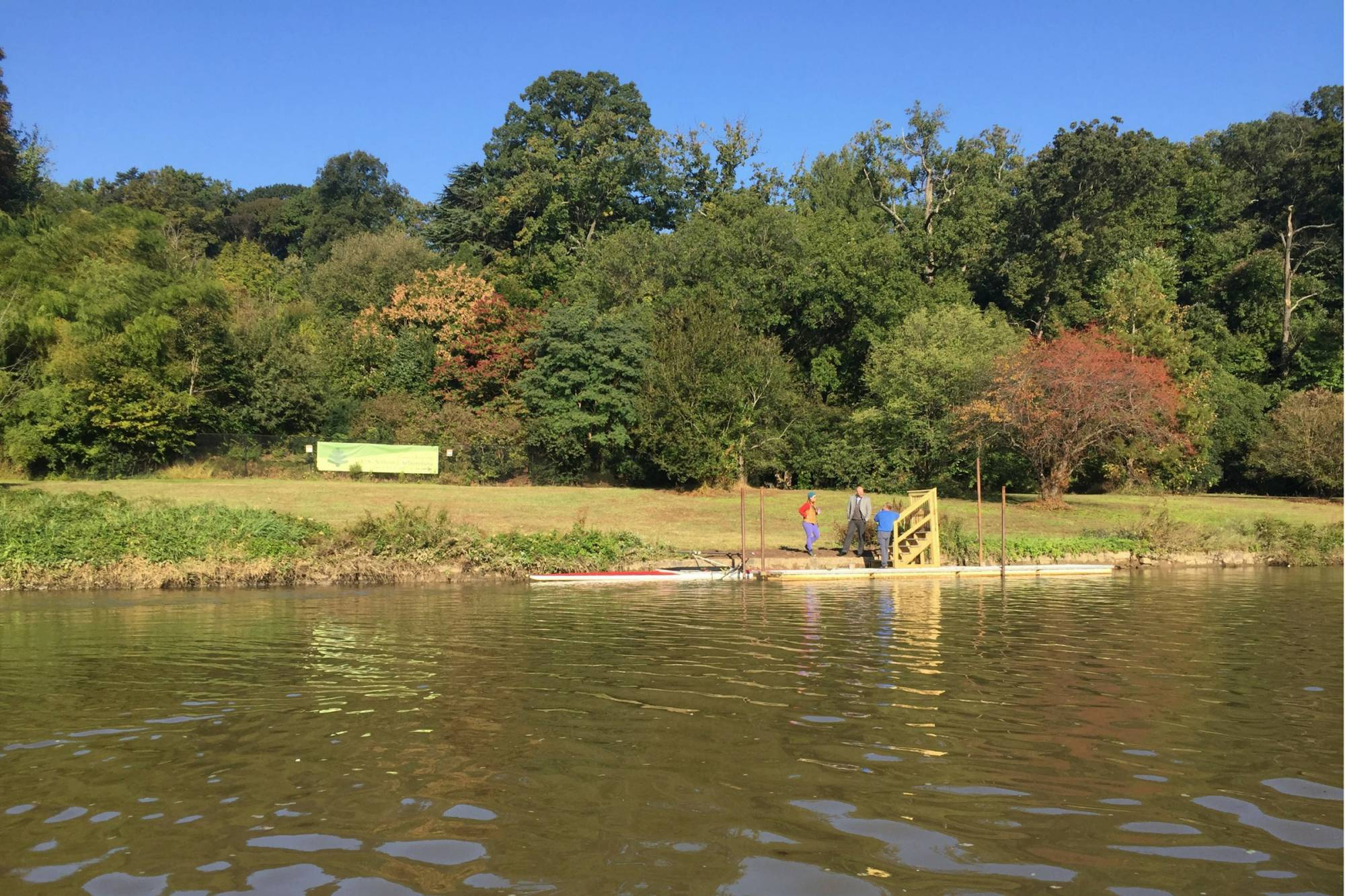 Anacostia Watershed Society and REI Install New Dock at National Arboretum